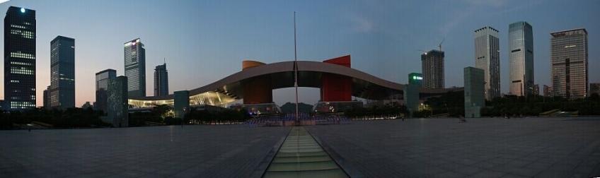 深圳市民中心全景图