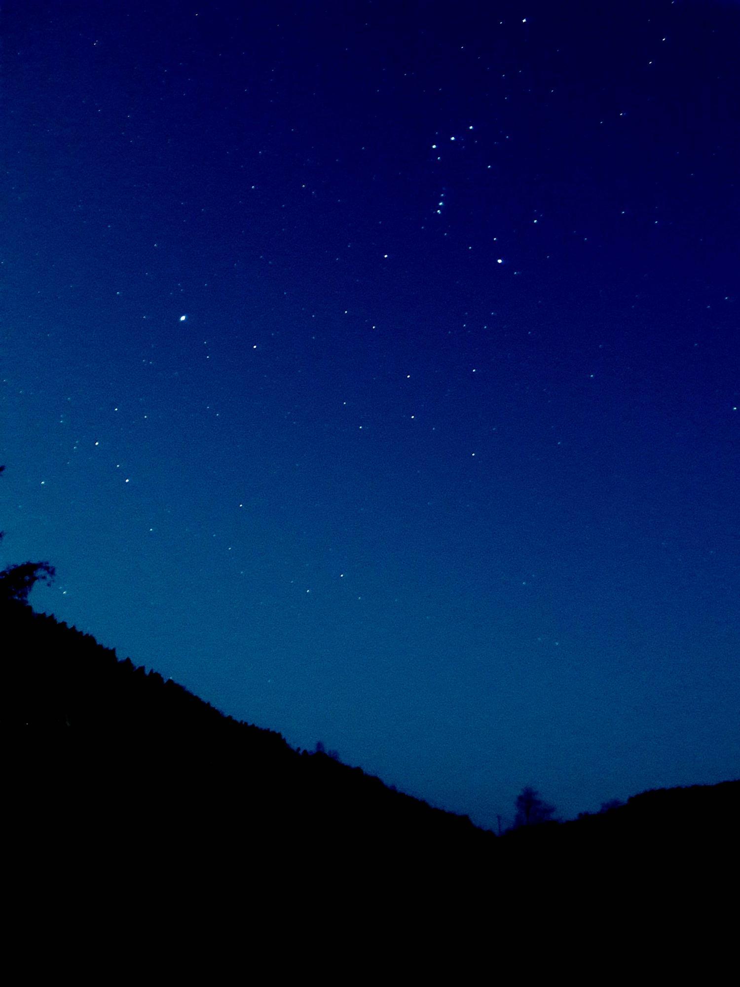 星空竖屏风景图片