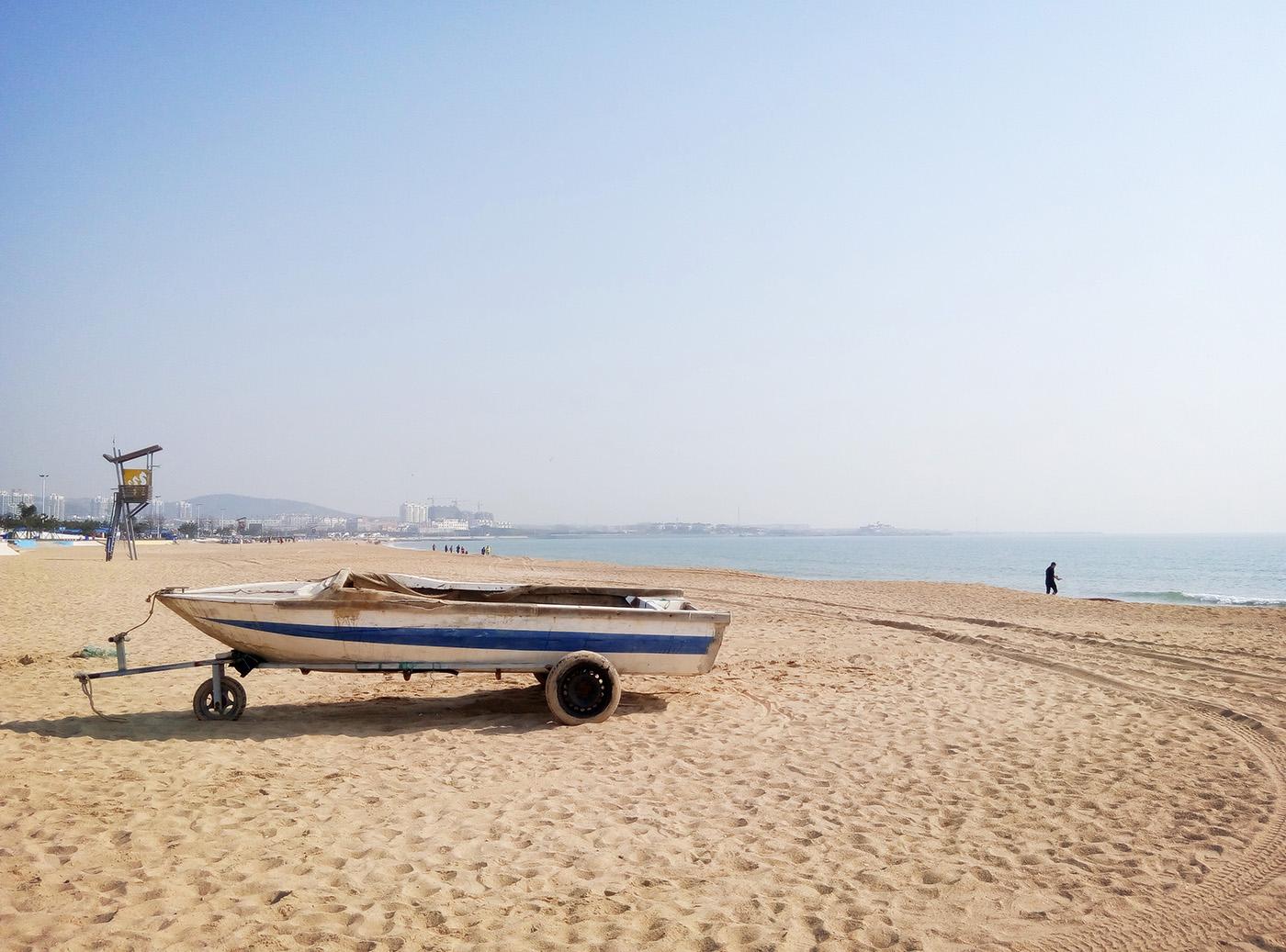 走进春天,拥抱蓝天碧海金沙滩