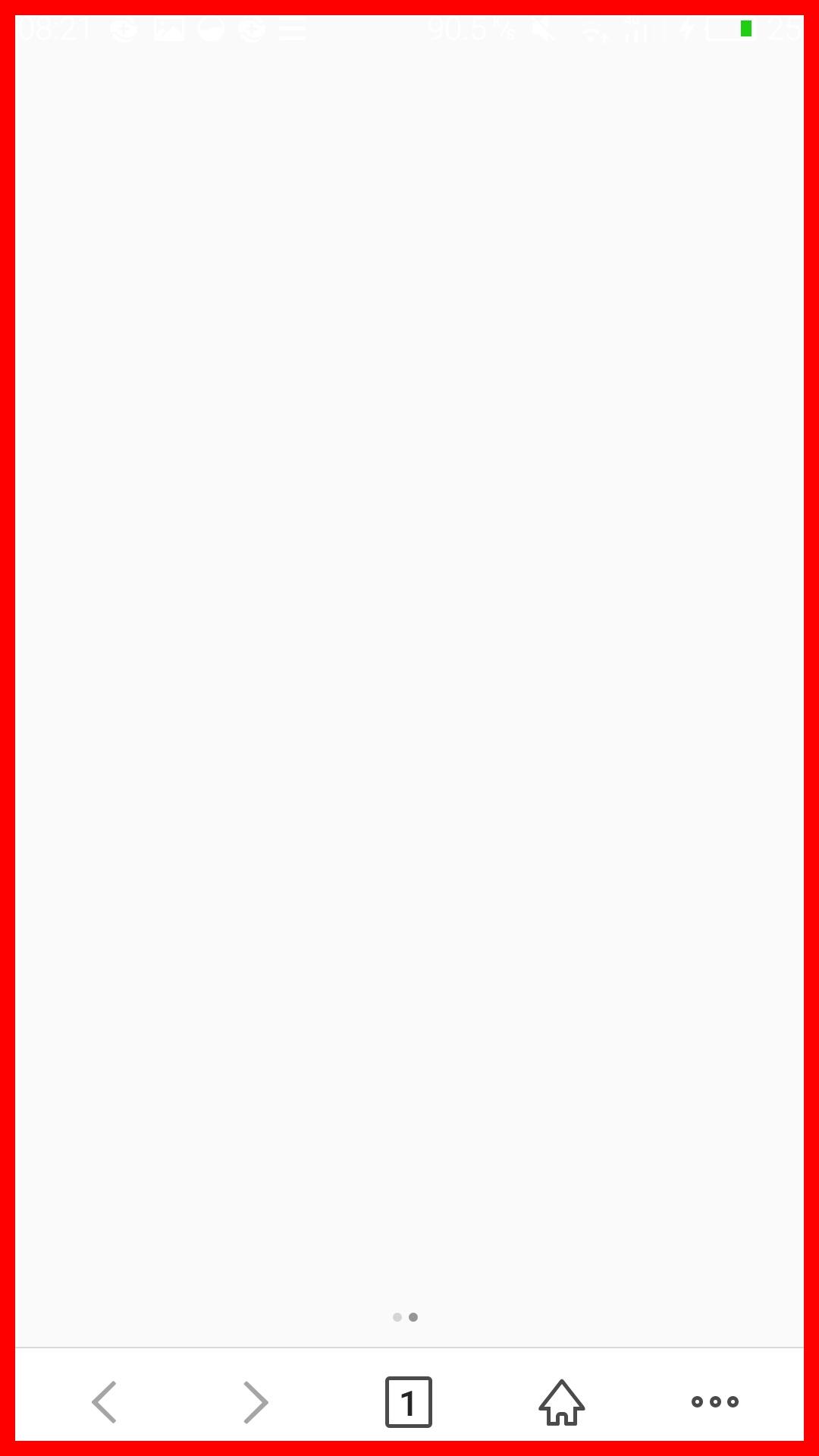 手机出现红色边框